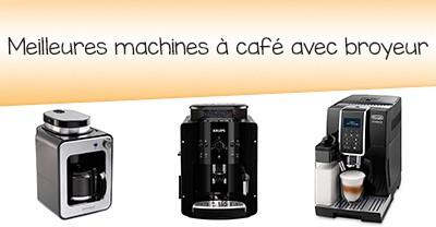 Comparatif de machines à café avec broyeur en janvier 2020
