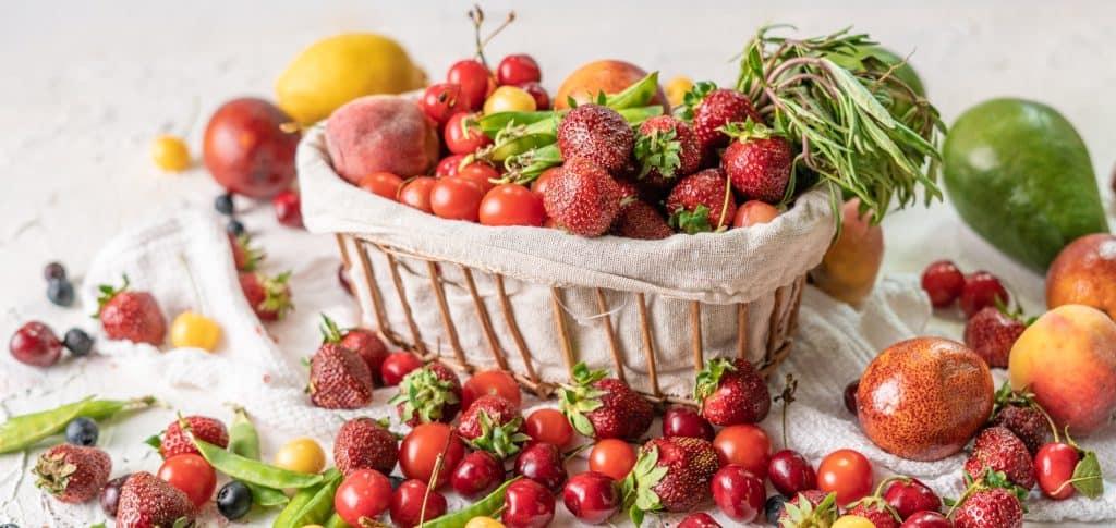 cagette de jolis fruits de saison