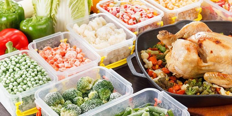 congélation fruits legumes et viande